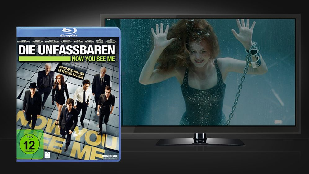 Die Unfassbaren - Now You See Me (Blu-ray Disc)