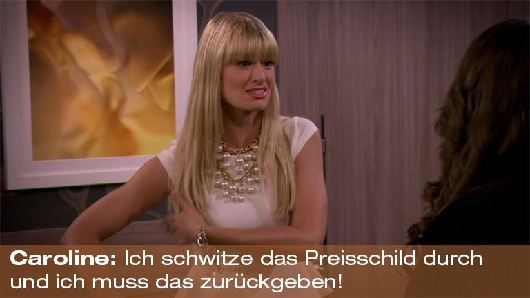 2 Broke Girls - Vorlage - Zitat der Woche11