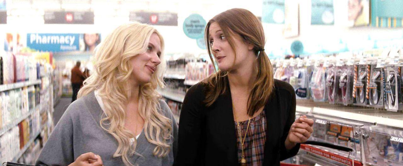 Suchen verzweifelt nach Mr. Right: Anna (Scarlett Johansson, l.) und Mary (Drew Barrymore, r.) ... - Bildquelle: Warner Brother