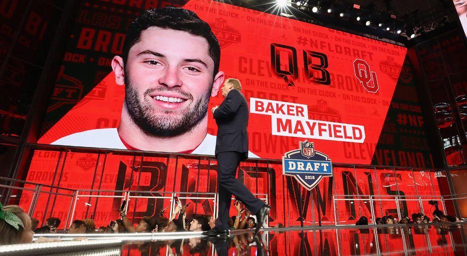 1. Pick - Cleveland Browns: QB Baker Mayfield - Bildquelle: getty