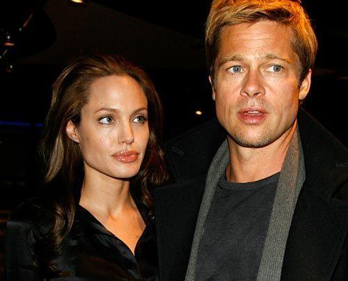 Galerie: Angelina Jolie und Brad Pitt - Bildquelle: getty - AFP