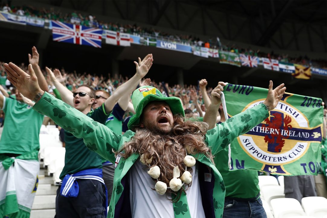 Northern Ireland_000_BZ1PA_Odd ANDERSEN_AFP - Bildquelle: AFP /Odd ANDERSEN