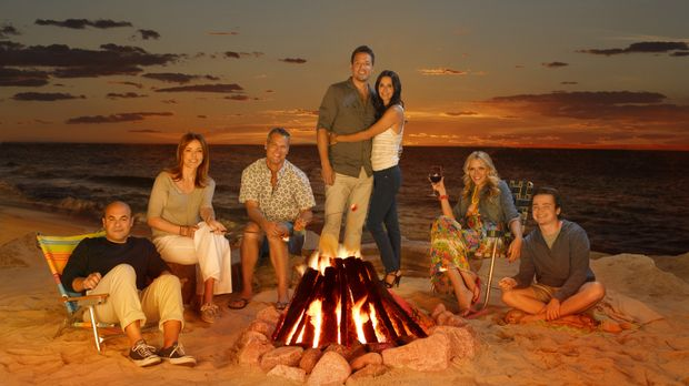 (3. Staffel) - Welcome to Cougar Town (v.l.n.r.): Andy (Ian Gomez), Ellie (Ch...