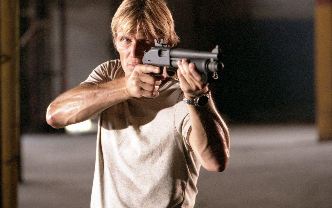 Der Tag der Abrechnung ist gekommen: Cop Frank Gannon (Dolph Lundgren) ... - Bildquelle: Nu-Image Films