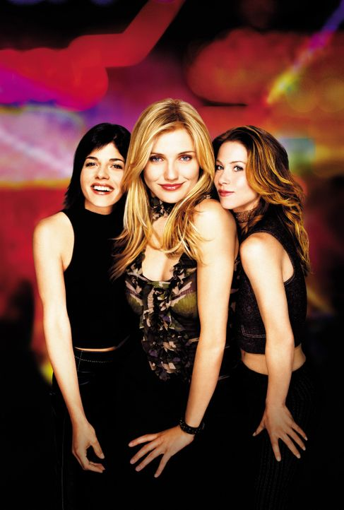 Super süß und super sexy: (v.l.n.r.) Jane (Selma Blair), Christina Walters (Cameron Diaz) und Courtney (Christina Applegate) ... - Bildquelle: 2003 Sony Pictures Television International