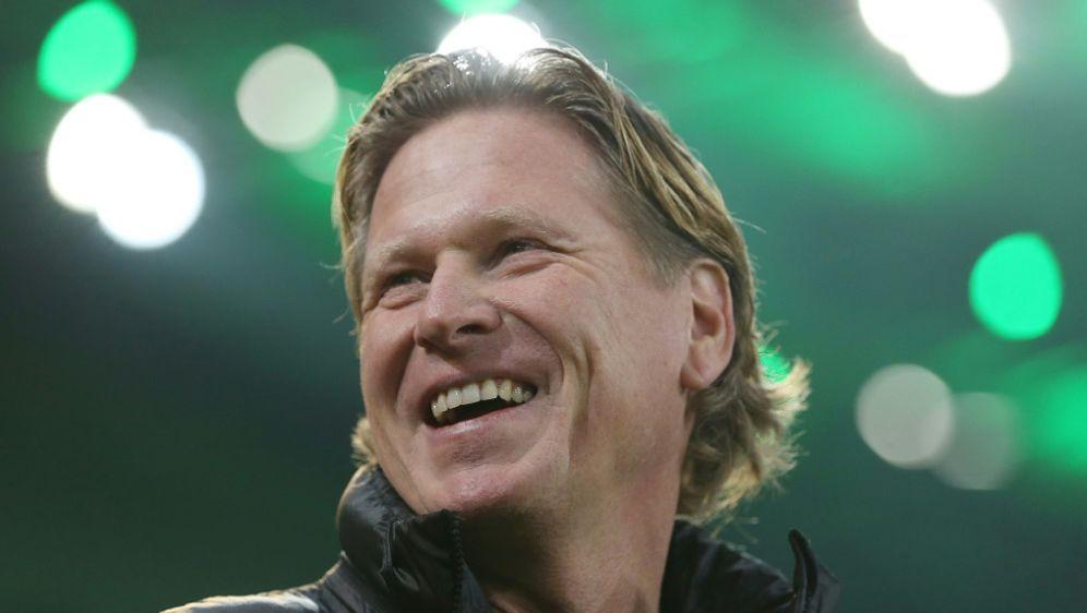 Spürt beim HSV kein Misstrauen: Trainer Markus Gisdol - Bildquelle: FIROFIROSIDFIRO