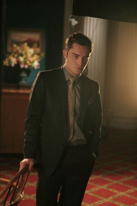 Wird der Rufmord dazu führen, dass Chuck (Ed Westwick) sein Hotel verliert? - Bildquelle: Warner Brothers.