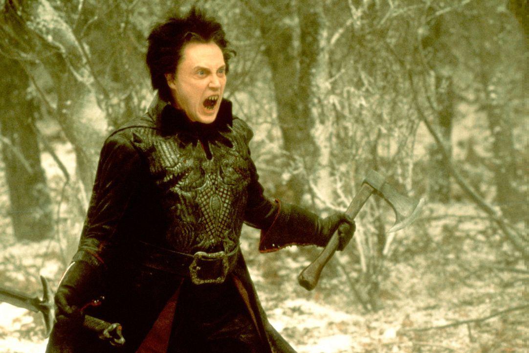 Der kopflose Reiter (Christopher Walken) hat seinen Kopf zurück ... - Bildquelle: Constantin Film