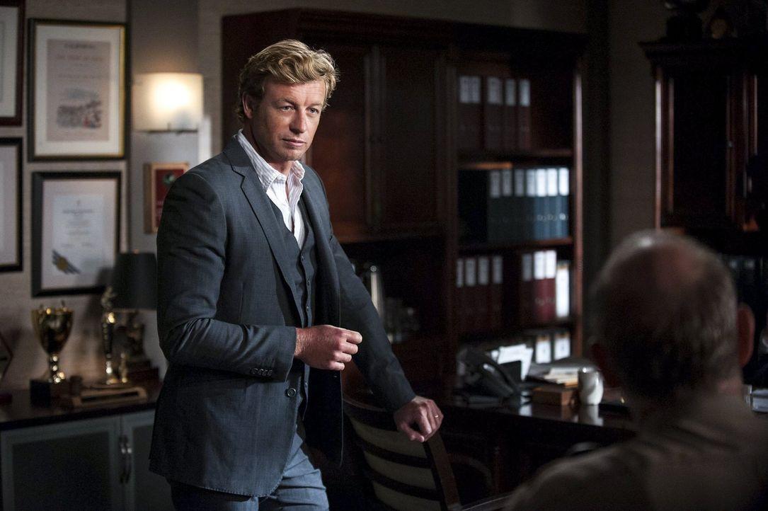 Ein neuer Fall wartet auf Patrick Jane (Simon Baker) ... - Bildquelle: Warner Bros. Television