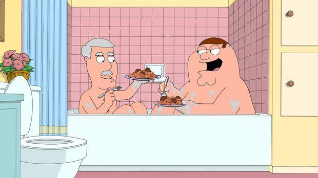 Während Lois mit ihrer Mutter Babs einen Tag im Spa verbringt, kümmert sich P...
