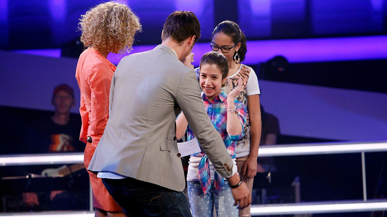 The-Voice-Kids-epi05-MicheleMaira-SAT1-Richard-Huebner - Bildquelle: SAT.1/Richard Hübner