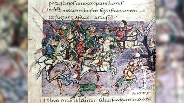 Während seiner Herrschaft zog Karl der Große unter anderem gegen die Sachsen...