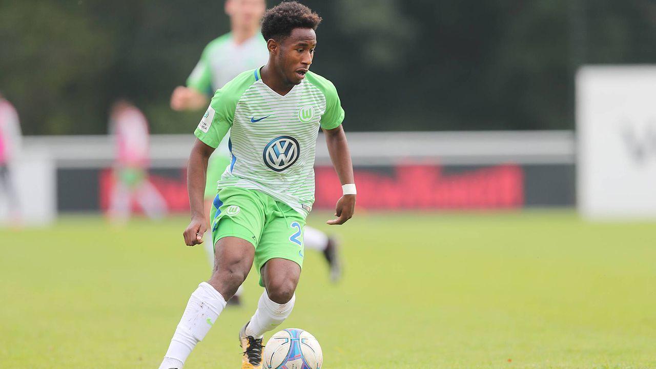 John Yeboah (VfL Wolfsburg) - Bildquelle: imago/Hübner