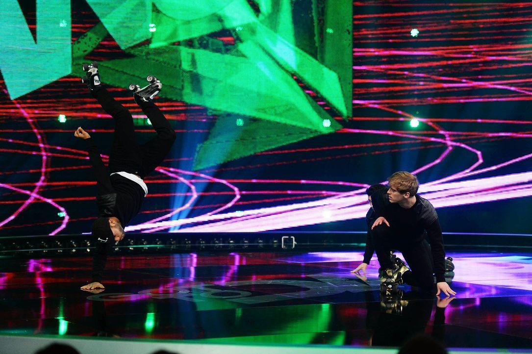 Got-To-Dance-Vanilla-Skate-05-SAT1-ProSieben-Willi-Weber - Bildquelle: SAT.1/ProSieben/Willi Weber