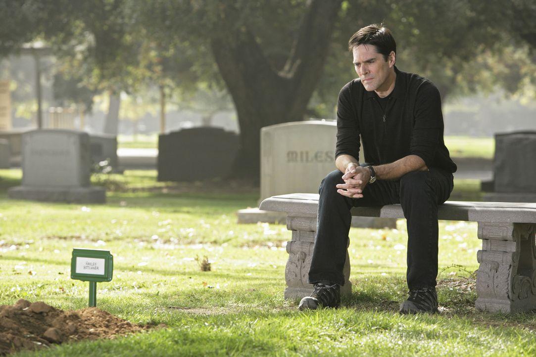Ihm fällt der Abschied schwer: Hotch (Thomas Gibson) ... - Bildquelle: Touchstone Television