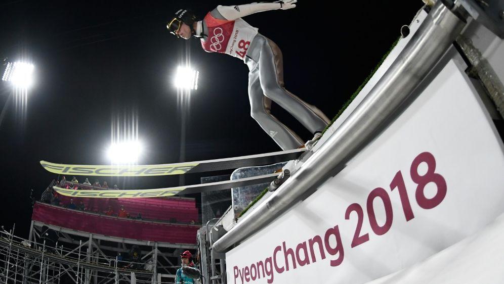 Olympiasieger Andreas Wellinger hat Luft nach oben - Bildquelle: AFPSIDJONATHAN NACKSTRAND