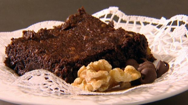 Traditionelle Schokoladen-Brownies