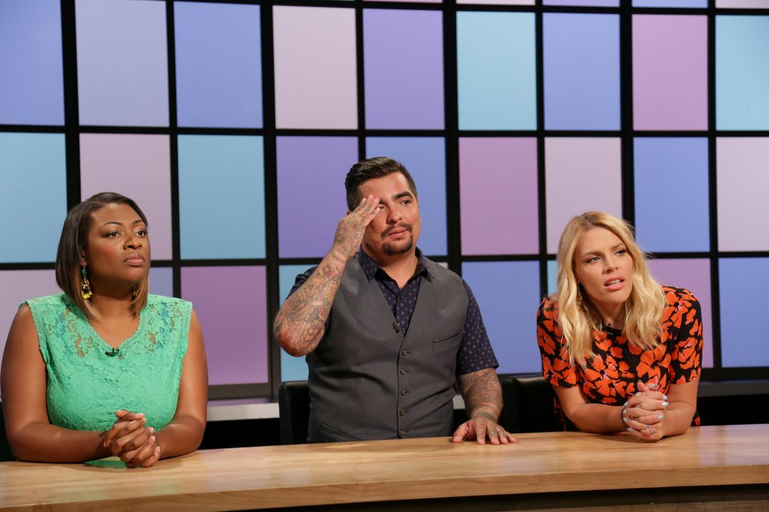 (v.l.n.r.) Tiffany Derry; Aarón Sánchez; Busy Philipps - Bildquelle: Susan Magnano 2016,Television Food Network, G.P. All Rights Reserved/Susan Magnano