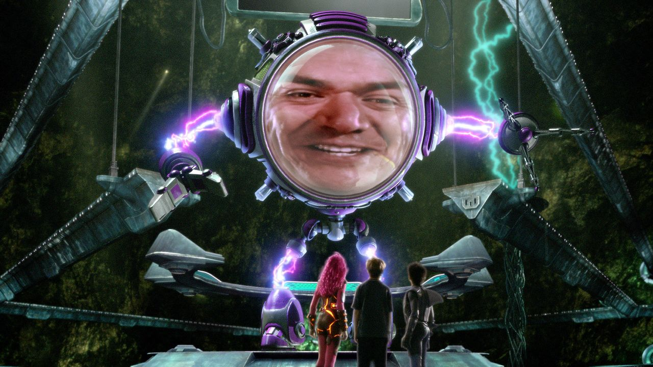 Mr. Electric (George Lopez) hat nur noch ein Ziel vor Augen: Er will die Fantasie ausrotten. Doch dazu muss er drei kleine Kinder vernichten ... - Bildquelle: 2005 Miramax Film Corp. All Rights Reserved.