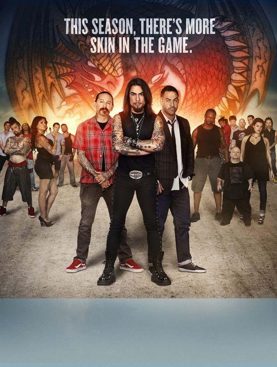 (2. Staffel) - Ink Master - Tattoo Champion USA - Plakat - Bildquelle: Spike TV