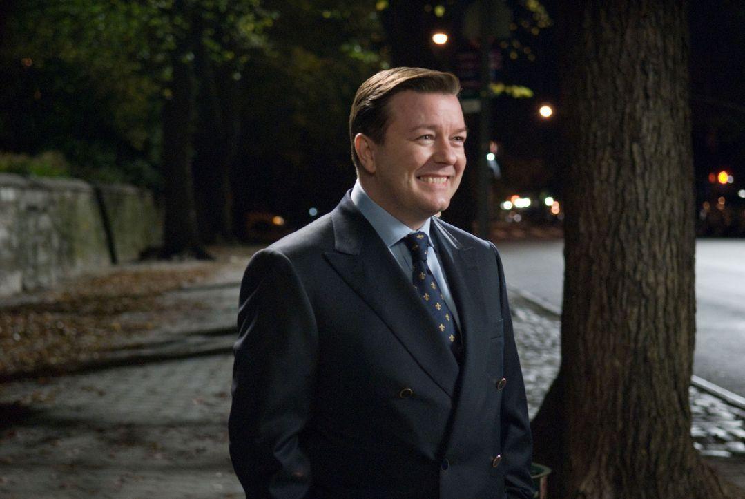 Als Bertram Pincus (Ricky Gervais) unerwartet ums Leben kommt, erwacht er nach sieben Minuten wie durch ein Wunder zu neuem Leben. Wie neu dieses is... - Bildquelle: MMVIII DREAMWORKS LLC AND SPYGLASS ENTERTAINMENT FUNDING, LLC. All rights reserved.