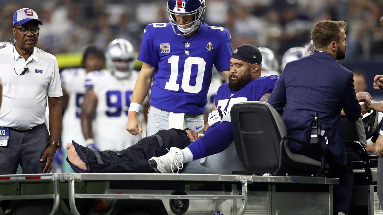 Jon Halapio (New York Giants) - Bildquelle: 2018 Getty Images