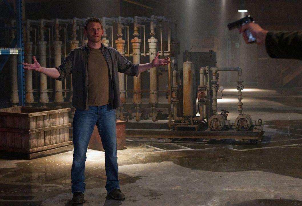 In seinen Halluzinationen muss sich Sam mit Luzifer (Mark Pellegrino) auseinandersetzen, während Castiel Schwierigkeiten hat, seine neugewonnene Mac... - Bildquelle: Warner Bros. Television