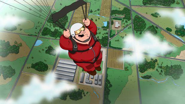 Family Guy - Peters neues Hobby Fallschirmspringen führt unweigerlich dazu, d...