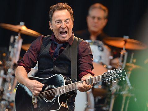 """Auch mit 62 Jahren stimmlich und körperlich topfit: Bruce """"The Boss"""" Springsteen. (Bild: dpa)"""