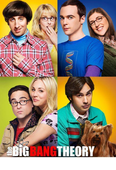 (8. Staffel) - The Big Bang Theory: Bernadette (Melissa Rauch, oben 2.v.l.), Howard (Simon Helberg, oben l.), Amy (Mayim Bialik, oben r.), Sheldon (... - Bildquelle: Warner Bros. Television