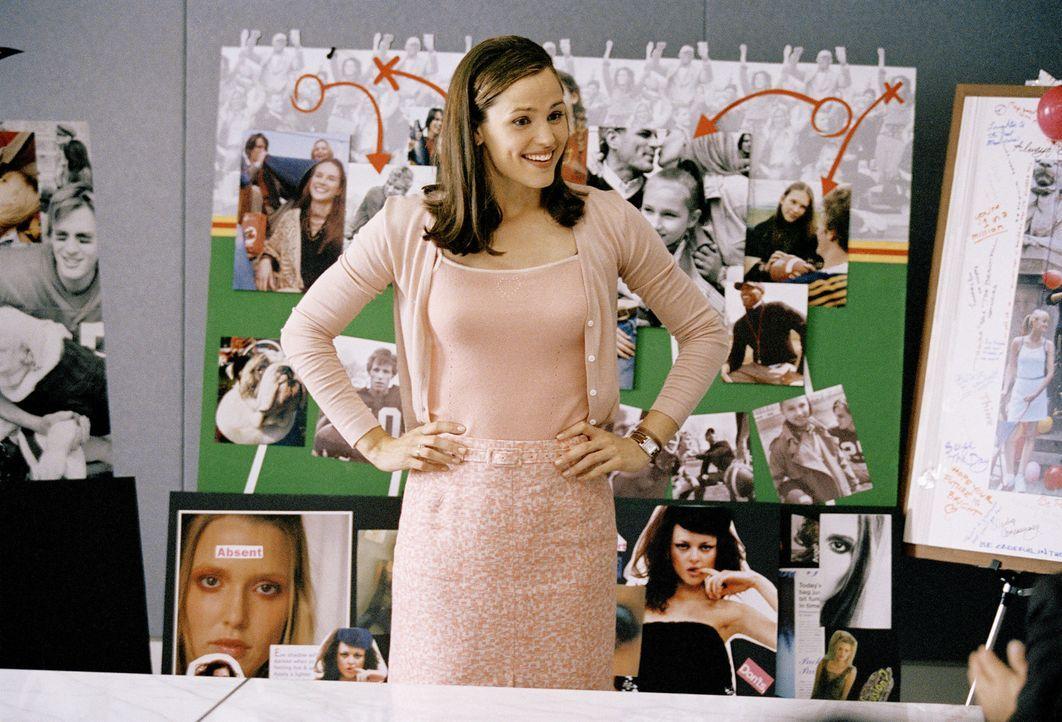 Als Jenna (Jennifer Garner) am Morgen nach ihrem 13. Geburtstag erwacht, ist sie nicht in ihrem Kinderzimmer, sondern in einer schicken Wohnung im J... - Bildquelle: Sony Pictures Television International. All Rights Reserved.