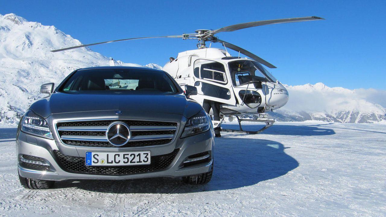 Making of: Moderationsdreh Mercedes 4MATIC - Bildquelle: Kabel eins