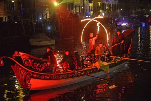 Karneval in Venedig: Die schönsten Bilder5 - Bildquelle: dpa