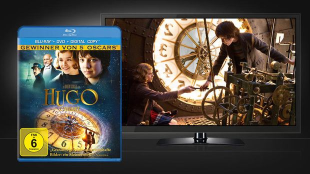hugo-cabret-bd-paramount-home-entertainment 820 x 461 © Paramount Pictures Ho...