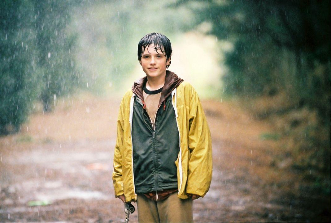 Als sich Leslie eines Tages alleine auf den Weg in ihre Phantasiewelt, Terabithia, begibt, geschieht eine Katastrophe, die Jess' (Josh Hutcherson) L... - Bildquelle: 2006 Constantin Film, München