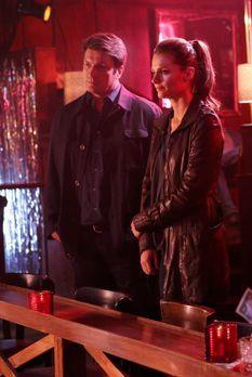 Castle - Die Hochzeit von Castle (Nathan Fillion, l.) und Beckett (Stana Kati...