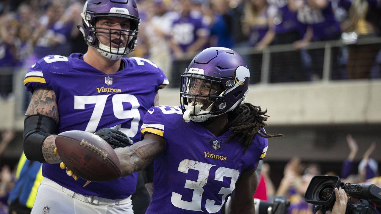Platz 10: Minnesota Vikings (7-6-1, Vorwoche: nicht vertreten) - Bildquelle: imago/ZUMA Press