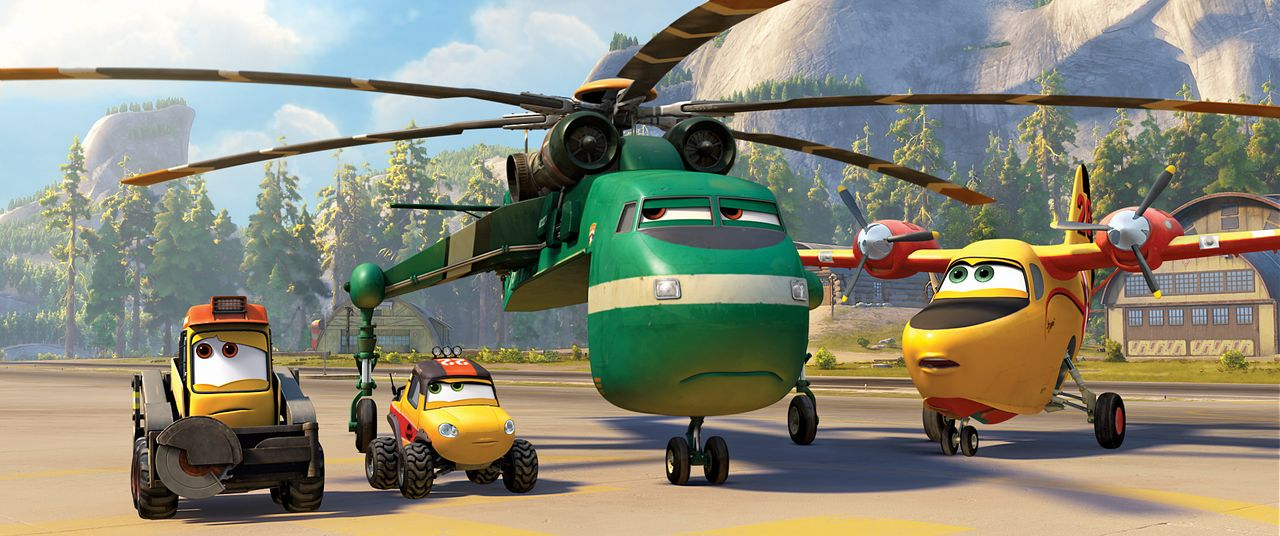 Planes-2-Immer-im-Einsatz-05-Walt-Disney - Bildquelle: 2014 Disney Enterprises, Inc. All Rights Reserved.