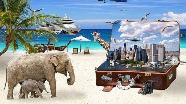 Urlaub-Reisen