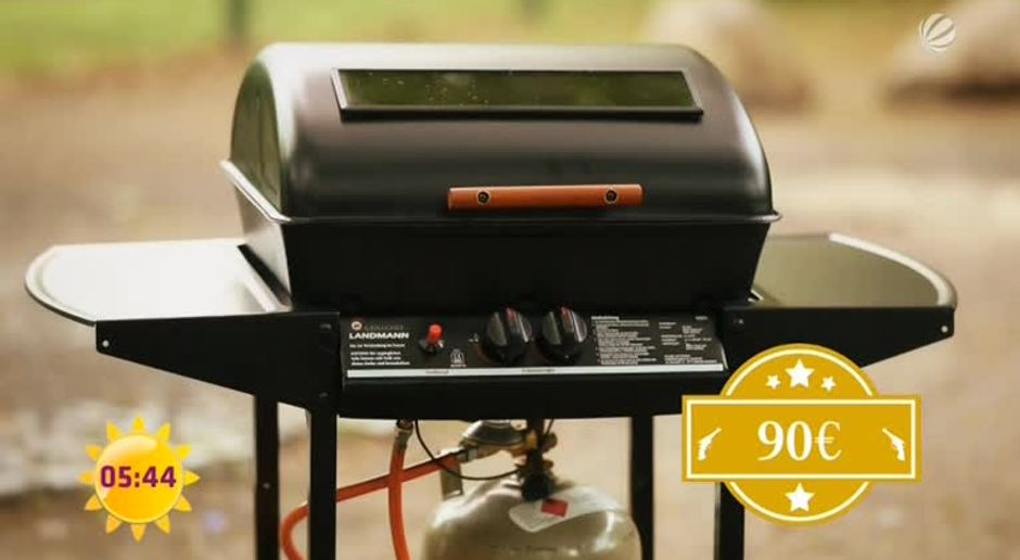 Billig Gasgrill Test : Frühstücksfernsehen video teuer vs. günstig: gasgrills im test