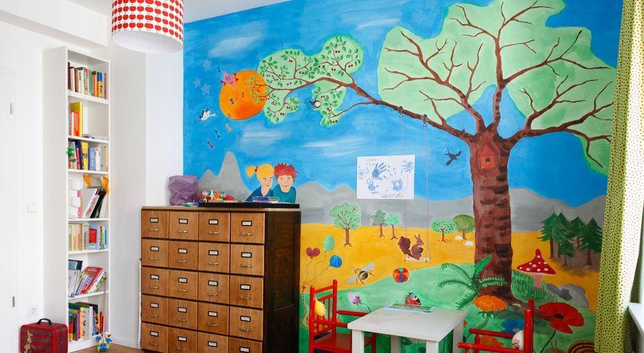 Kinderzimmer Wandgestaltung Nach Individueller Vorlage
