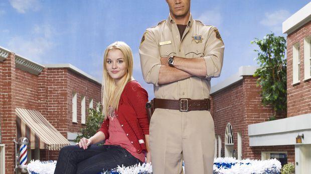 (3. Staffel) - Jack Carter (Colin Ferguson, r.) und seine Tochter Zoe (Jordan...