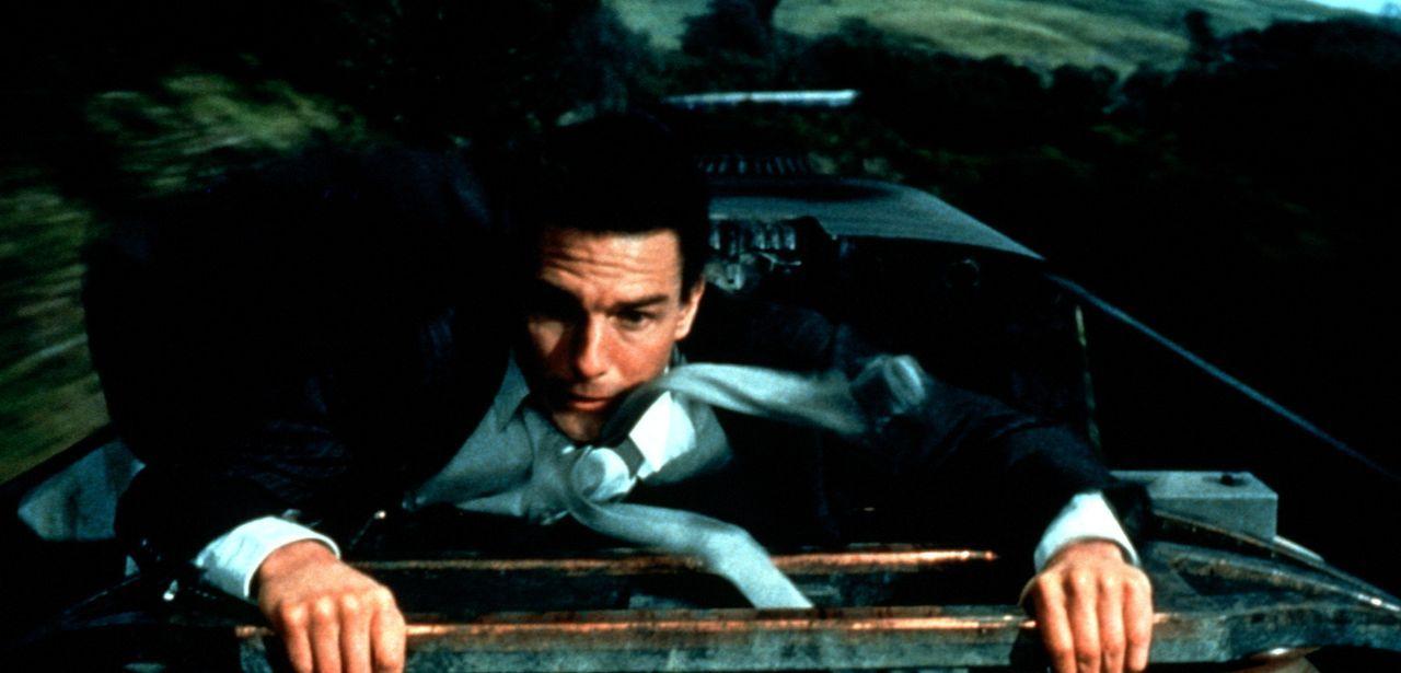 Bei der Übergabe der Diskette ist auch der Verräter mit an Bord. Die Zugfahrt wird zum Showdown zwischen Ethan (Tom Cruise) und dem Überläufer ... - Bildquelle: Paramount Pictures