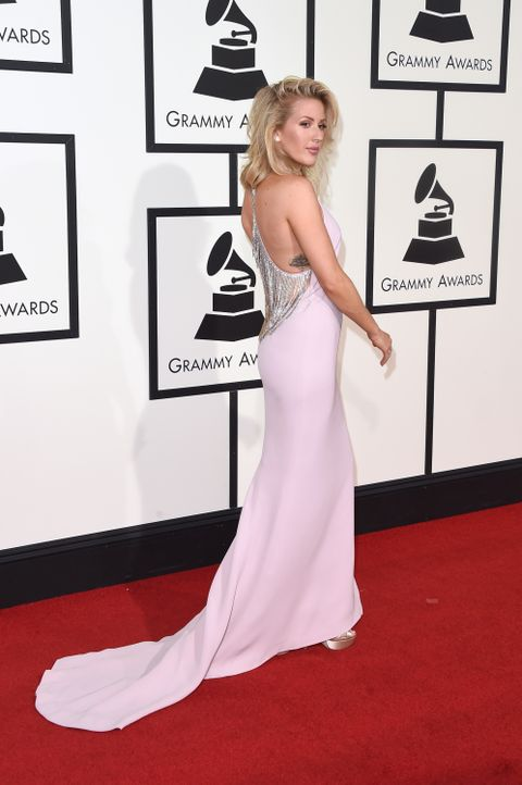 Grammys 2016: Ellie Goulding - Bildquelle: Jason Merritt / GETTY IMAGES NORTH AMERICA / AFP