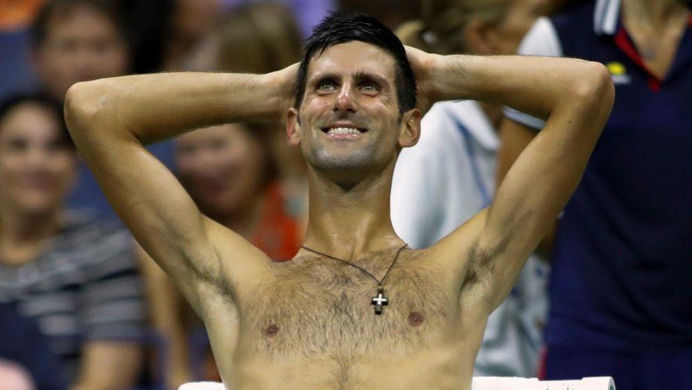 Djokovic trotz Hitze im Halbfinale - Bildquelle: AFPSIDEDUARDO MUNOZ ALVAREZ