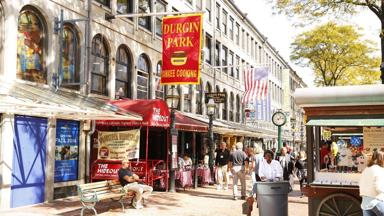 In Boston, Massachusetts, gibt es für Andrew Zimmern viel zu entdecken ... - Bildquelle: 2014,The Travel Channel, L.L.C. All Rights Reserved