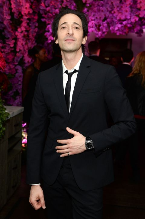BVLGARI-Pre-Oscar-Party-Adrien-Brody-15-02-17-getty-AFP - Bildquelle: getty-AFP