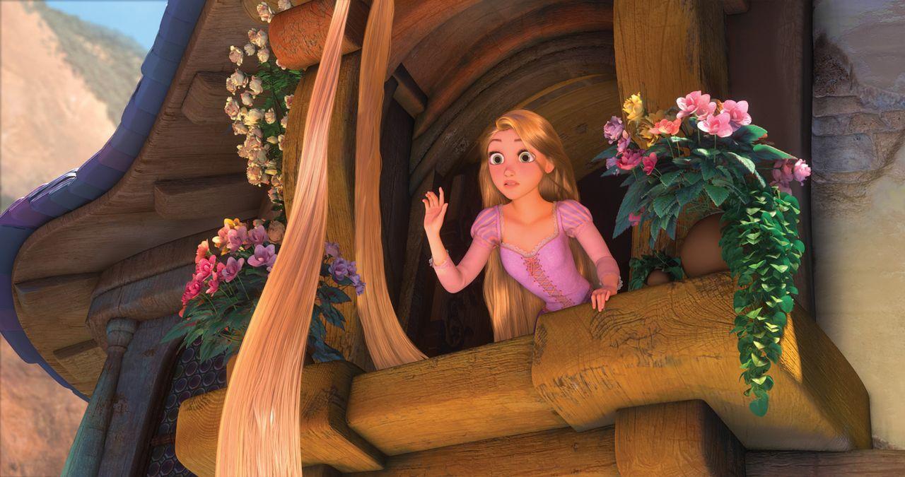 Siebzehn Jahre lang hat die schöne Rapunzel ihren Turm nicht verlassen. Doch, wenn es nach ihr geht, ist es nun endlich an der Zeit das zu ändern un... - Bildquelle: Disney.  All rights reserved