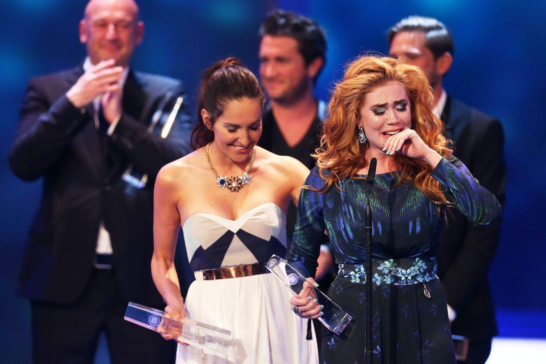 Deutscher-Fernsehpreis-Palina-Rojinski-13-10-02-dpa - Bildquelle: dpa