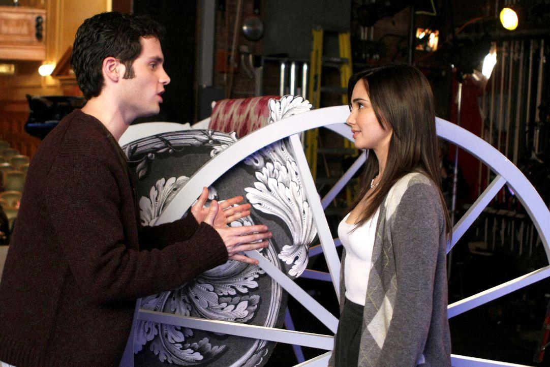 Können nicht voneinander lassen: Dan (Penn Badgley, l.) und Rachel (Laura Breckenridge, r.) ... - Bildquelle: Warner Brothers